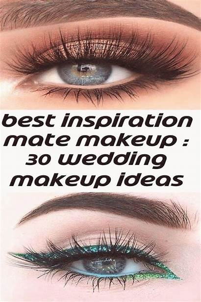 Makeup Eyes Inspiration Bright Eye Glitter Mate
