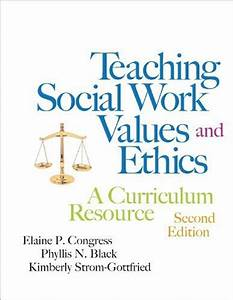 Ebook Teaching Social Work Values And Ethics A Curriculum ...
