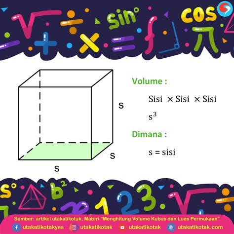 Pertama adalah gabungan dua bangun ruang berbentuk kubus dan balok. Contoh Soal Volume Kubus Dan Penyelesaiannya - Siti