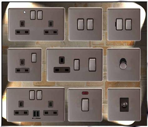pipe l dimmer switch screwless black nickel usb plug sockets led standard