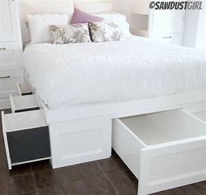 diy king platform bed with headboard New Generation