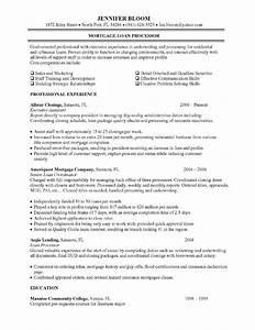 mortgage loan processor job description resume objective With mortgage loan processor resume template