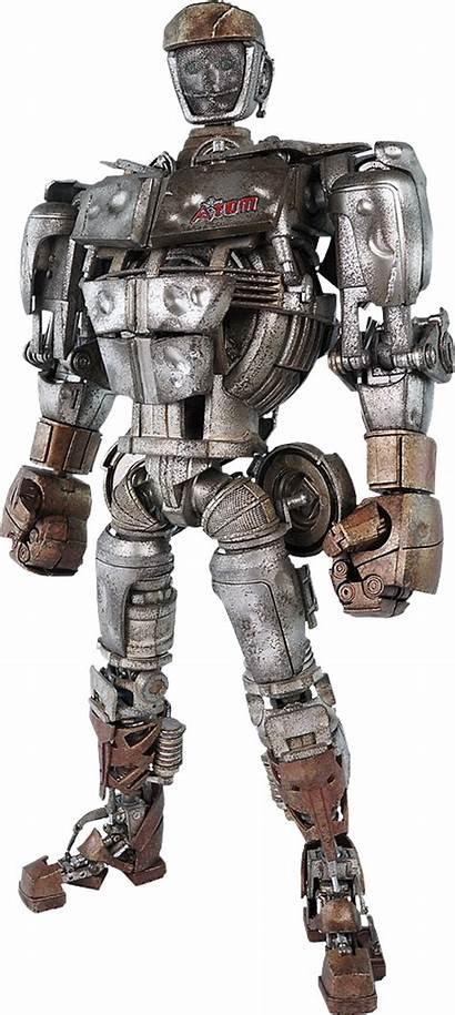 Atom Steel Toys Threea Robots Sideshow Figure