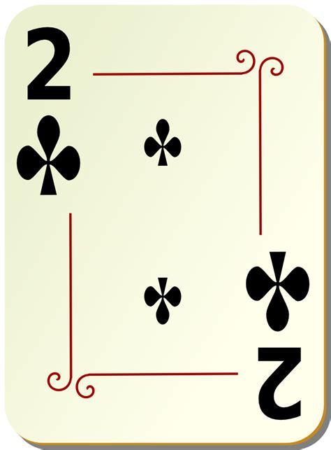 onlinelabels clip art ornamental deck   clubs