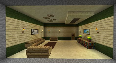 HD wallpapers idee interieur maison minecraft
