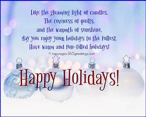 Happy Holiday W... Holiday Coworker Quotes