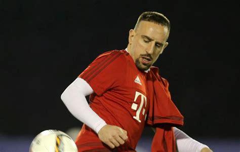 Ribéry back on board in Bayern training   MARCA English
