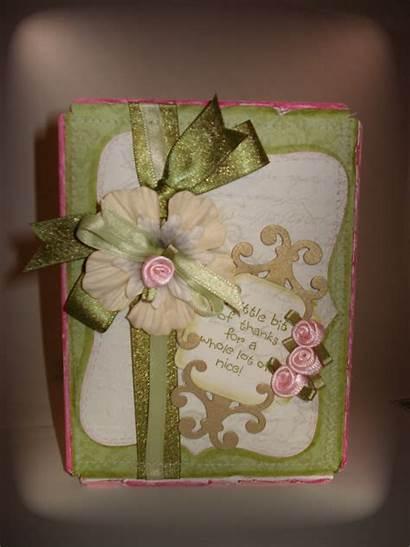 Handmade Thank Card Say Cards Die Cuts