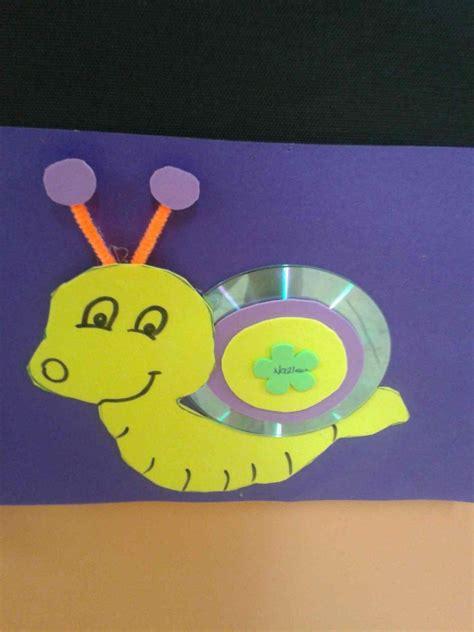 snail craft  kids