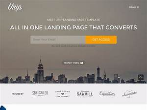 30 best landing page wordpress themes 2018 athemes With wordpress splash page template