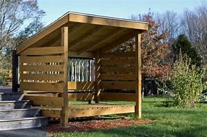 Shedme: Firewood storage shed
