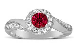 ruby engagement ring antique designer 1 carat ruby and engagement ring for in white gold jeenjewels
