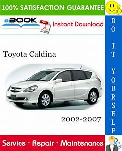 Toyota Caldina Service Repair Manual 2002