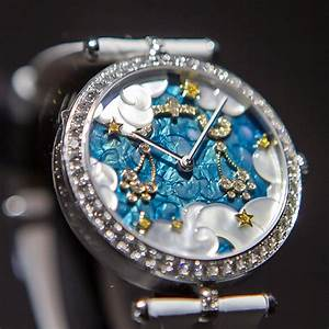 Gold Element Chart Astrology Watches Van Cleef Arpels Lady Arpels Zodiac