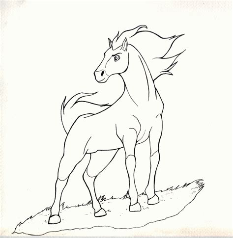 Information About Spirit And Rain Stallion Of The Cimarron Coloring