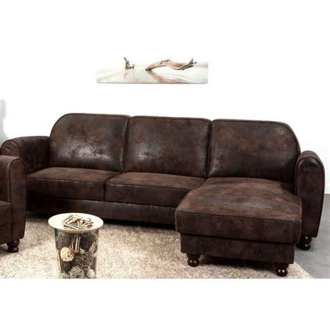 canap d angle cuir marron canapé sofa divan finlandek canapé d 39 angle réversible