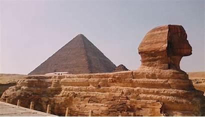 Egypt Sphinx Desert Giza Travel 4k