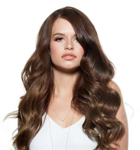 With Brown Hair by Chestnut Brown Clip In Hair Extensions Australia