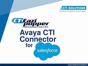 salesforce avaya integration overview With avaya salesforce