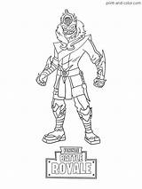 Fortnite Coloring Pages Printable Season Colouring Skin Boys Battle Snow Foot Visit sketch template