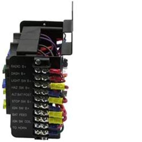 painless wiring 30001 universal 14 circuit fuse block ebay