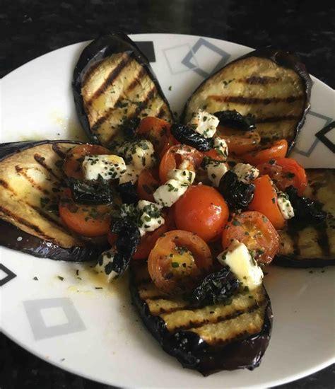 les 25 meilleures id 233 es de la cat 233 gorie aubergines grill 233 es sur salade d aubergine