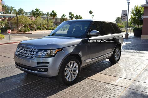 2013 Range Rover Hse Package Front & Rear Climate Vision