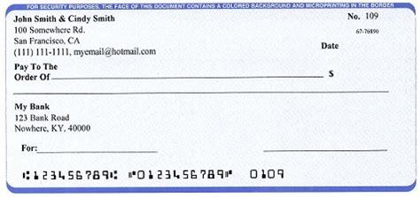 business check template free mac check writer print professional checks on blank stock