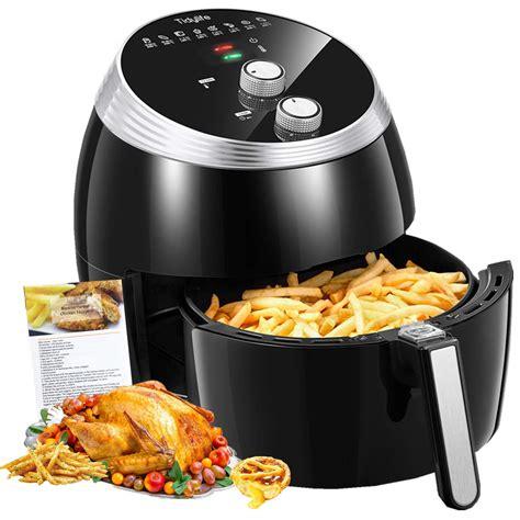 fryer air xl tidylife oven cooking temperature recipes 1700w ninja control smart oilless cooker shut stick basket non preset 3qt