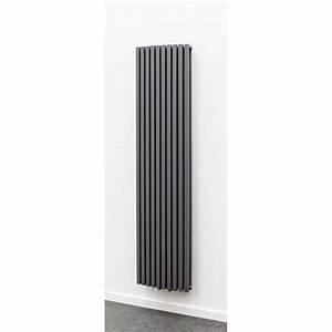 Radiateur Largeur 50 Cm : radiateurs d coratifs banio xander couleur antracite ~ Premium-room.com Idées de Décoration