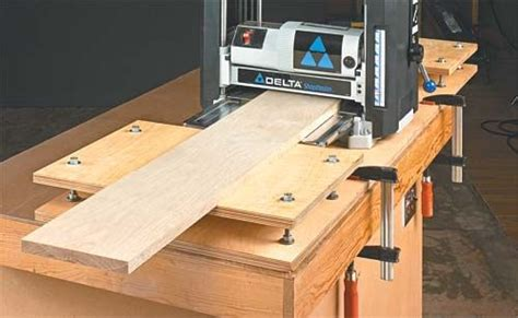 easy  put  portable planer table building