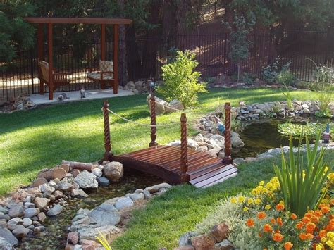 front yard pond ideas 62 best images about little yard bridges on pinterest gardens front yards and garden bridge