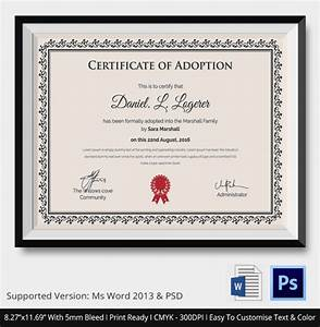 image gallery joke adoption certificate With certificate of adoption template