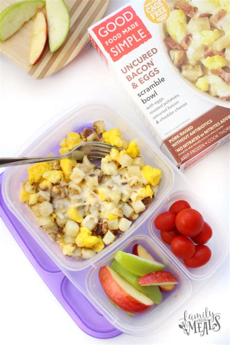 easy made meals easy breakfast on the go made simple family fresh meals