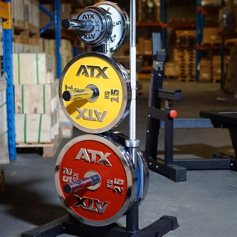 olympic weight plate stand power maxx sams fitness