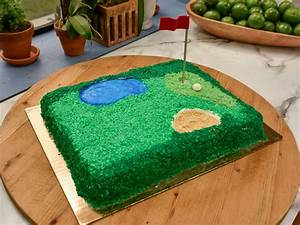 Cake Walk: Golf Course Cake The Kitchen: Food Network