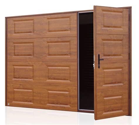 porte de garage isol 233 e soprofen portes de garages basculantes avec portillon