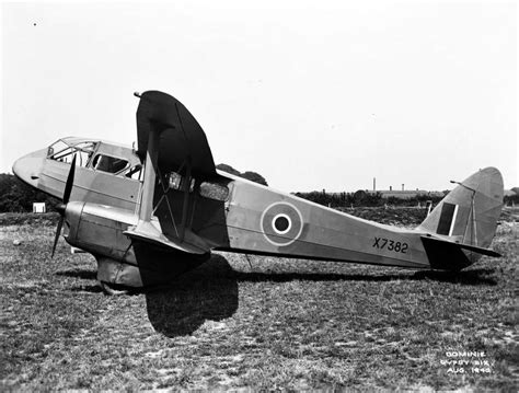 Great Britain's De Havilland Dh89 Rapide Transport And Dominie Trainer
