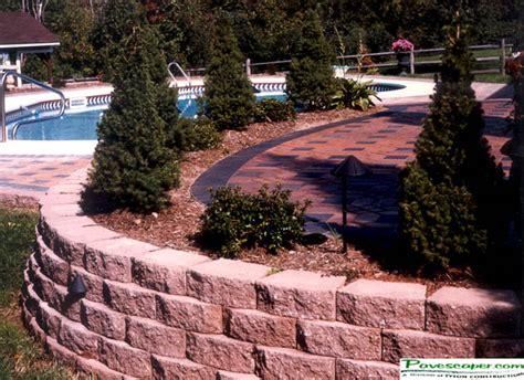 Paver Brick Wall by Landscape Building Landscaping Bricks Pavers