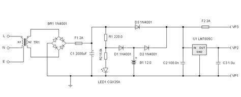 Cer Converter Wiring Diagram by Uninterrupted Power Supply Circuit Diagram Electronic
