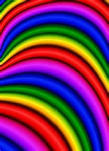 Printable Rainbow Background