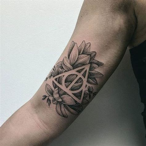 harry potter tattoos  men ideas  designs  guys