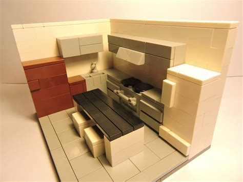 How To Make A Modern Lego Kitchen   YouTube
