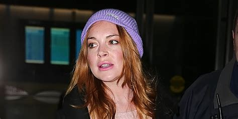 Lindsay Lohan Reportedly Hospitalized After Contracting
