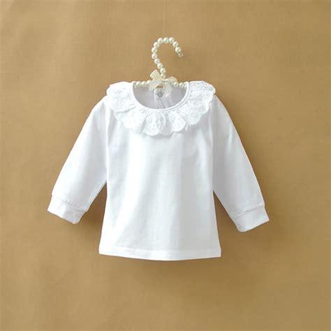 autumn children  shirt baby girls tops cotton long sleeve