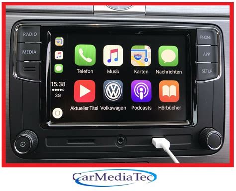 apple carplay radio original vw radio freisprechanlage apple carplay rcd330