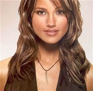 Coupe De Cheveux Pour Visage Long : coupe de cheveux femme long pour visage rond ~ Melissatoandfro.com Idées de Décoration