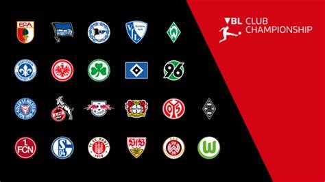 bundesliga vbl club championship  startet im november