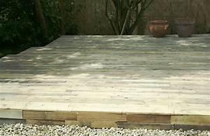 Terrasse Avec Palette : 5 id es pour recycler des palettes en bois dans son jardin ~ Melissatoandfro.com Idées de Décoration