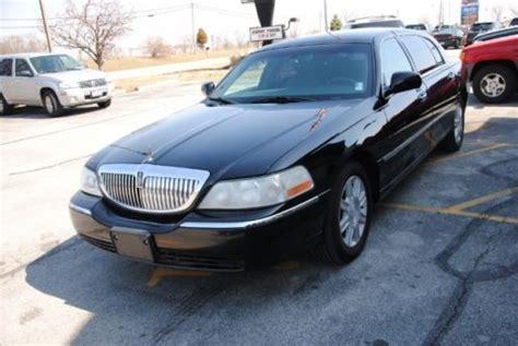 Buy used LINCOLN TOWN CAR 4 DOOR SEDAN EXECUTIVE L SERIES